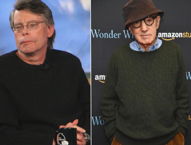 Stephen King says is 'very uneasy' Hachette dropping Woody Allen's memoir