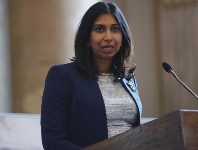 Suella Braverman: Boris Johnson appoints days attacked 'unaccountable' judges