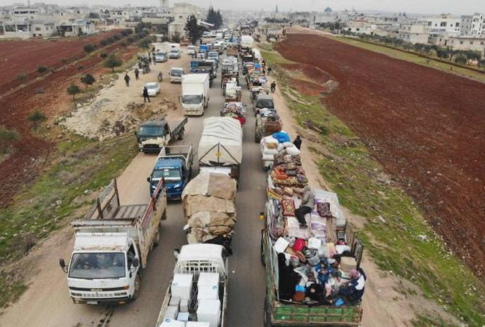 Tens thousands Assad retakes became Syrian