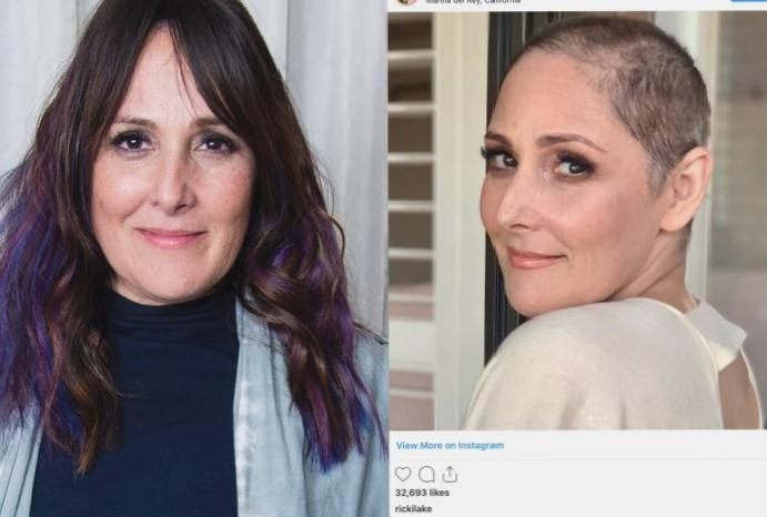 Thank Ricki Lake – suffers loss, bravery means