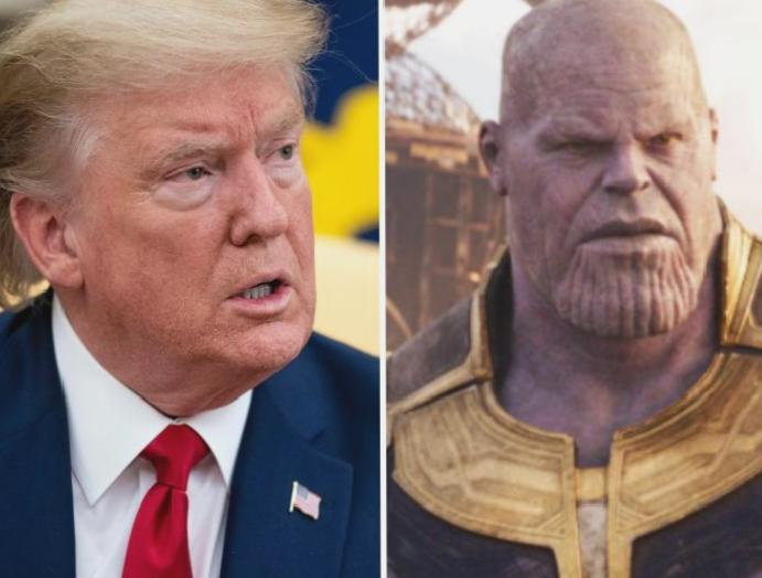 Thanos creator says Trump is 'worse' Marvel villain