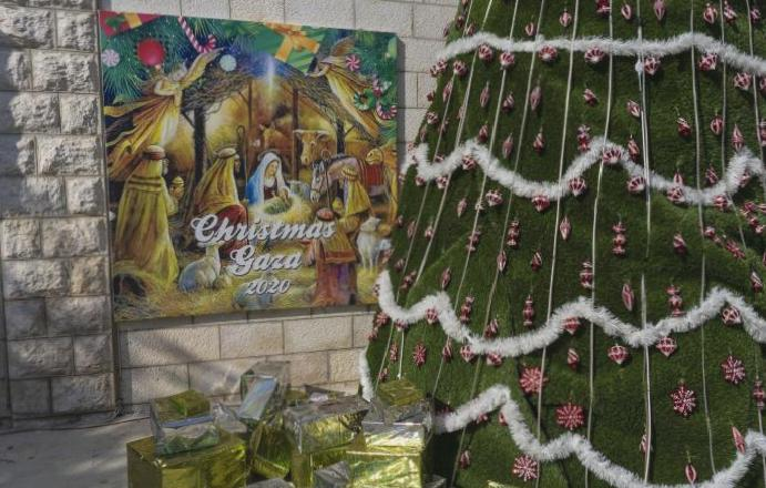 The Christmas: Gaza's Christians permits loved ones mercy Israeli authorities