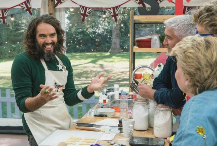 The Great Celebrity Bake Off review: Russell Brand impresses 'cosmic vagina' Stand Up Cancer