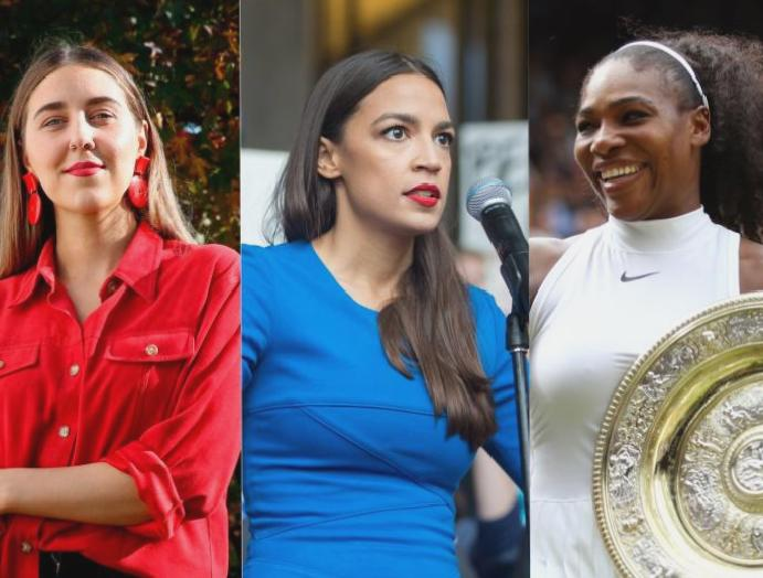 The Independent's Women Decade, Greta Thunberg Serena Williams