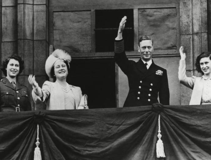 The Queen: How Princess Elizabeth celebrated VE Day unnoticed crowds streets London