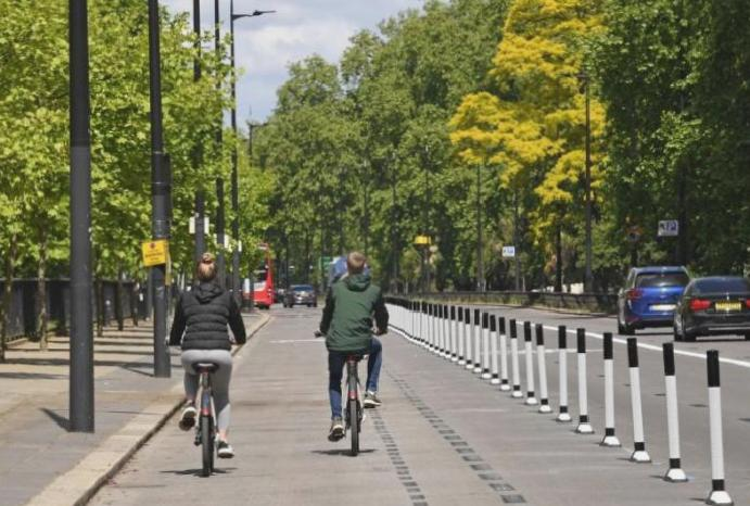 The cyclist's century? How coronavirus reshape UK cities towns two-wheel 'for generations come'