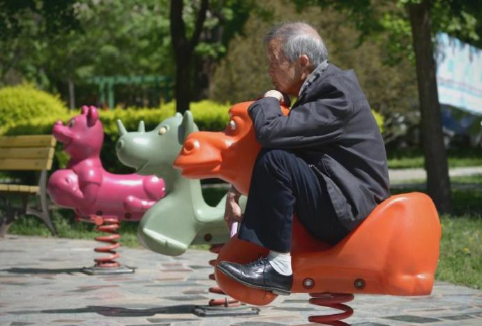 Tinder park? China's seniors seeking spaces