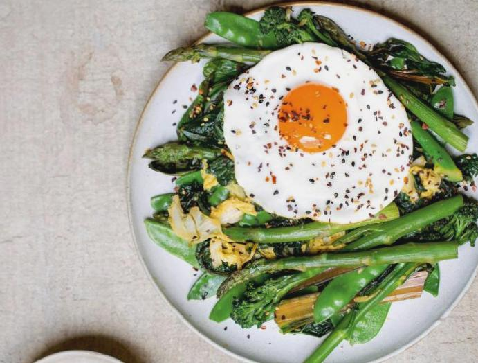Tom Kerridge's recipes: From cajun miso greens