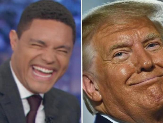 Trevor Noah The Daily Show troll Trump full-page posing fictional firm: 'Are soon-to-be-ex-president?'