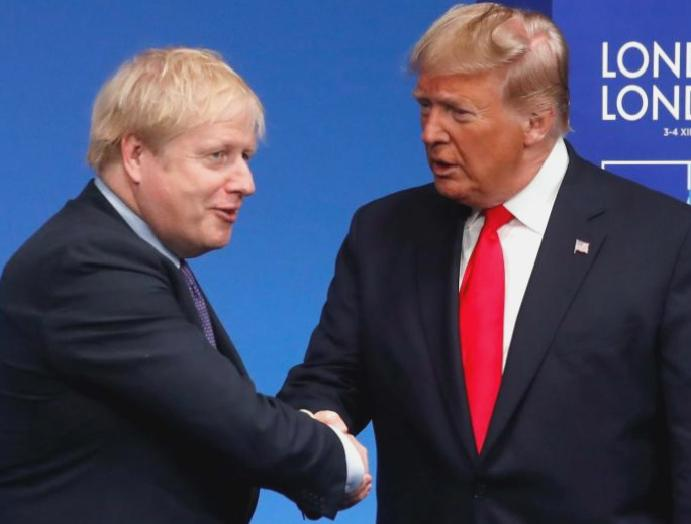 Trump Boris Johnson ushered an unspeakable greed – won't