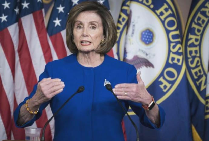 Trump interference Roger Stone is 'abuse power', Pelosi says
