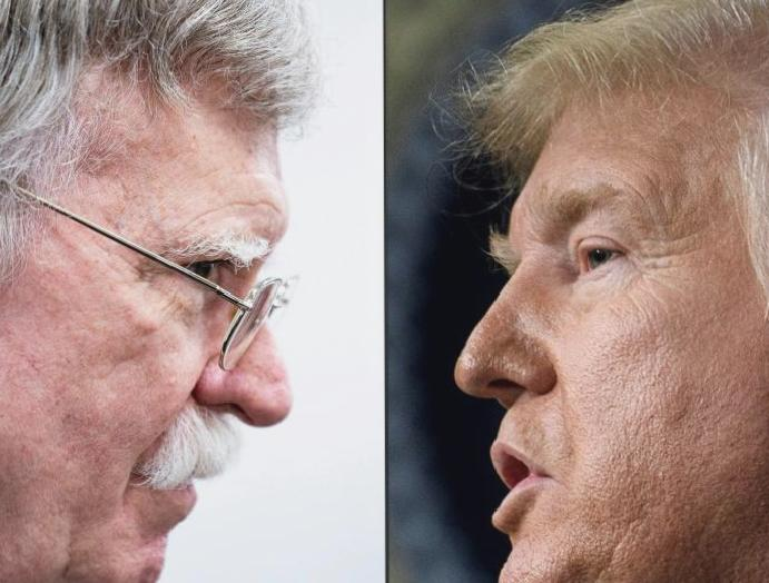 Trump says Bolton started 'World War Six' had been ejected White House