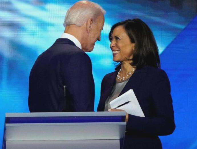 Trump says Kamala Harris 'fine choice' Biden's