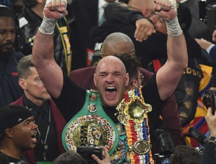 Tyson Fury's is – needs homophobic sexist remarks