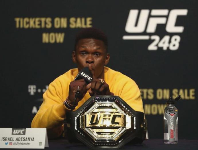 UFC 248: What UK does Israel Adesanya Yoel Romero start?