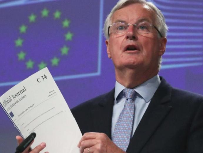 UK – live: Barnier accuses Boris Johnson backtracking Brexit commitments ministers questions 'world-beating'