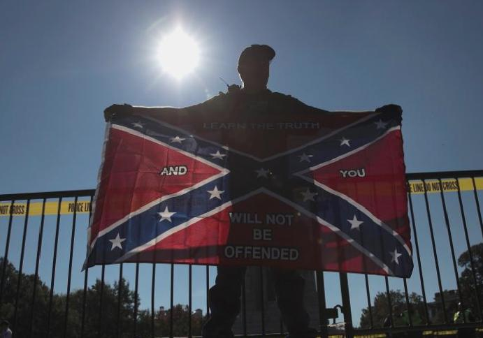 US Marines Confederate removed