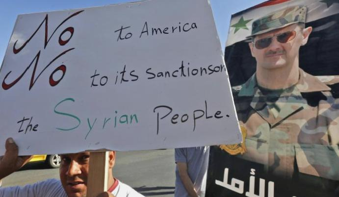 US hits Syria toughest sanctions looms
