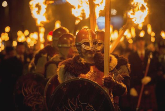 Up Helly Aa: Women included 'discriminatory' male-only Scottish
