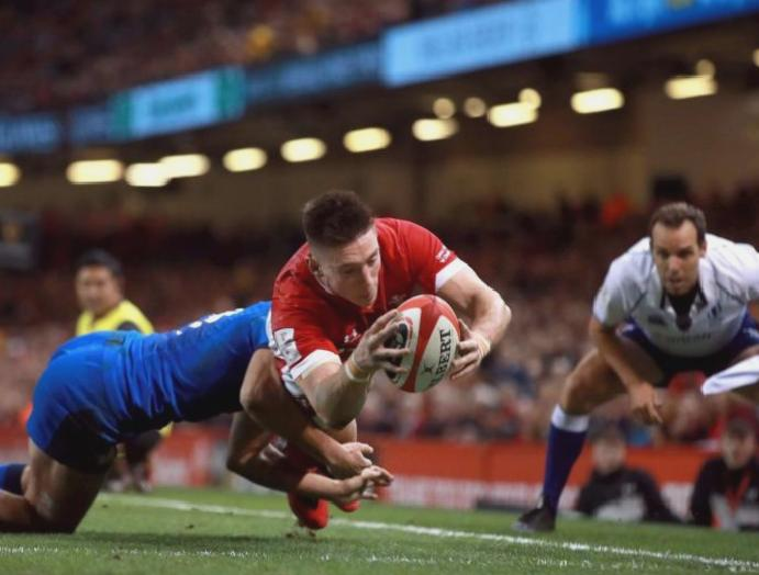 Wales Italy result: Josh Adams' hat-trick tries set-up Six Nations