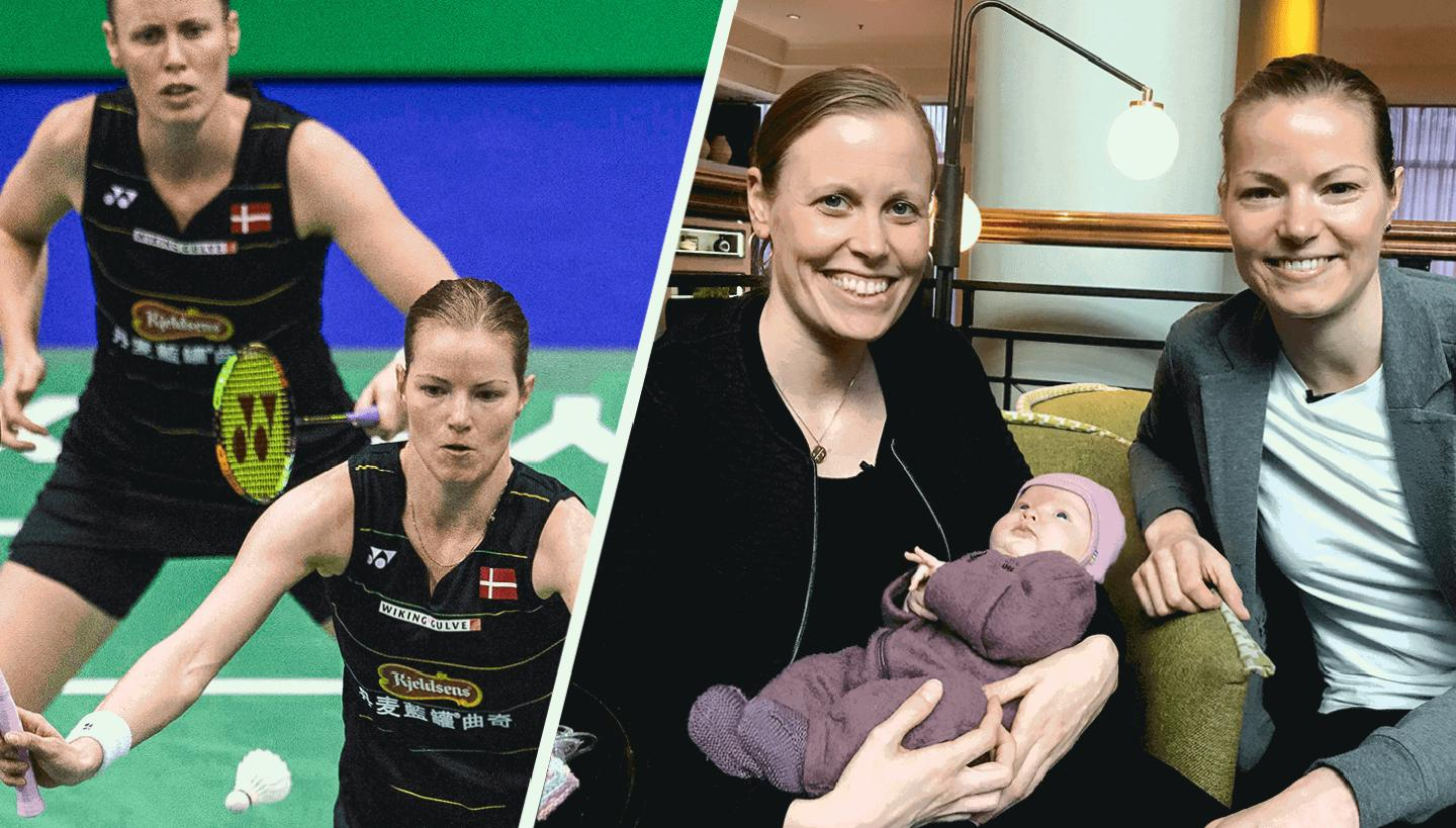 'We hid relationship, we're mums' - badminton taking