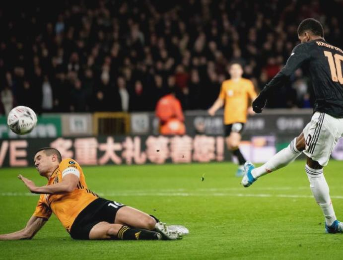 Wolves Manchester United result: Marcus Rashford hits unwanted FA Cup replay made