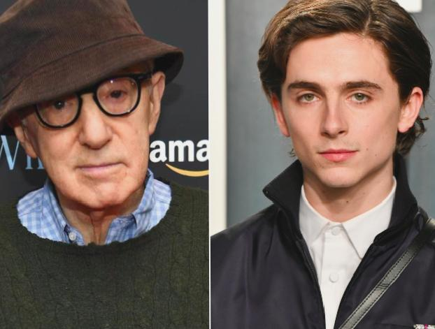 Woody Allen accuses Timothée Chalamet 'denouncing' chances winning an Oscar