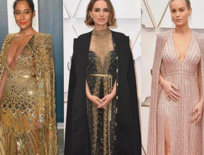 'All women are superheroes': Stars cape dresses Oscars