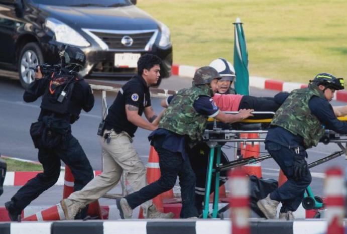 'Death is everyone': Thai killed 26 rampage