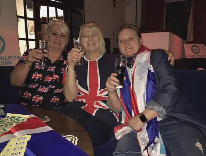 'I can't smiling': Booze, bingo bunting Barnsley Brexit celebrations