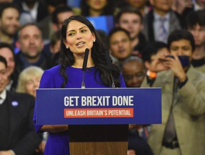 'Indefensible': Priti Patel condemned backing Extinction Rebellion