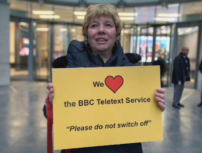 'It's world': BBC Red Button cuts claims discriminate
