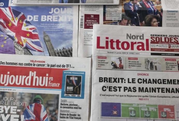 'Not bang, whimper': How Europe's newspapers are Brexit