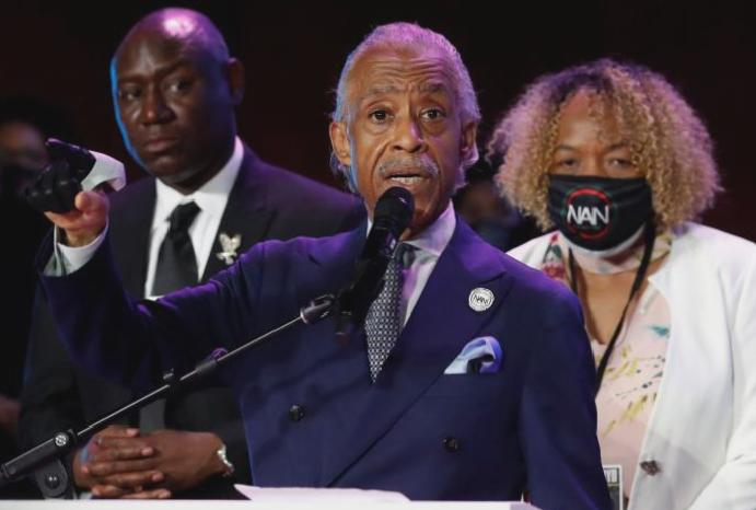 'This George prop': Al Sharpton mocks Trump's Bible photoshoot