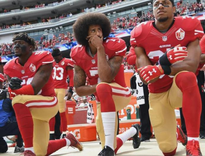 'We were wrong': NFL says protests anthem allowed inequality continues